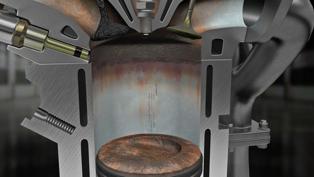 Dirty Combustion Chamber