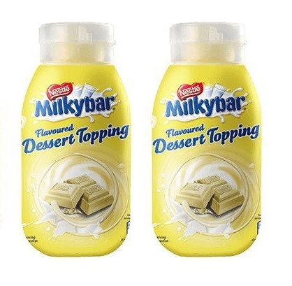 Milkybar dessert sauce