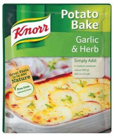 KNORR  Potato Bake Garlic and Herb 43g