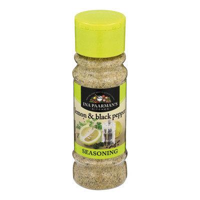Ina Paarman's Lemon And Black Pepper Seasoning 200ml