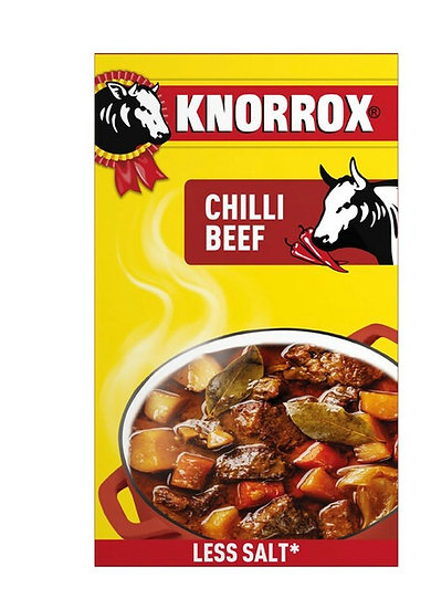 Knorr Stock Cubes Chilli Beef 24's