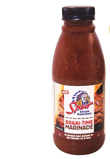 Game Spur Braai Time Marinade Sauce 500ml