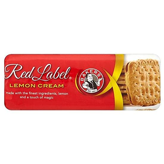 Red Label Lemon Cream
