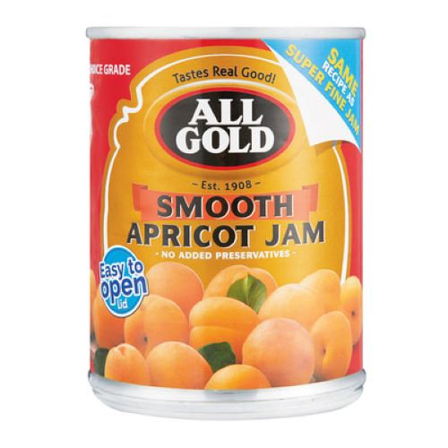 All Gold Smooth Apricot Jam 450g