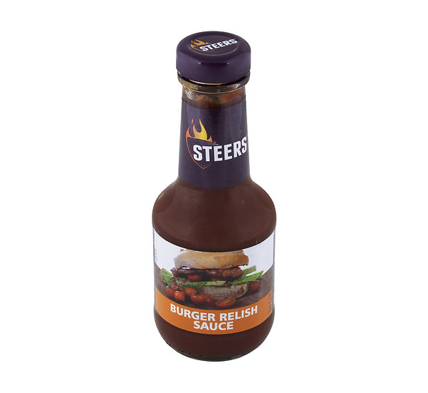 Steers Sauce Burger Relish  375ml