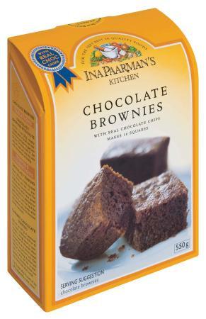 Ina Paarman - Chocolate Brownie Mix 550g