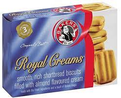 Bakers Royal Creams Shortbread Biscuits, 280g