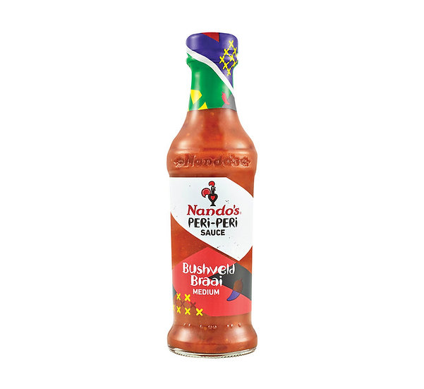 Nandos Peri Peri Bushveld Braai Sauce 250ml