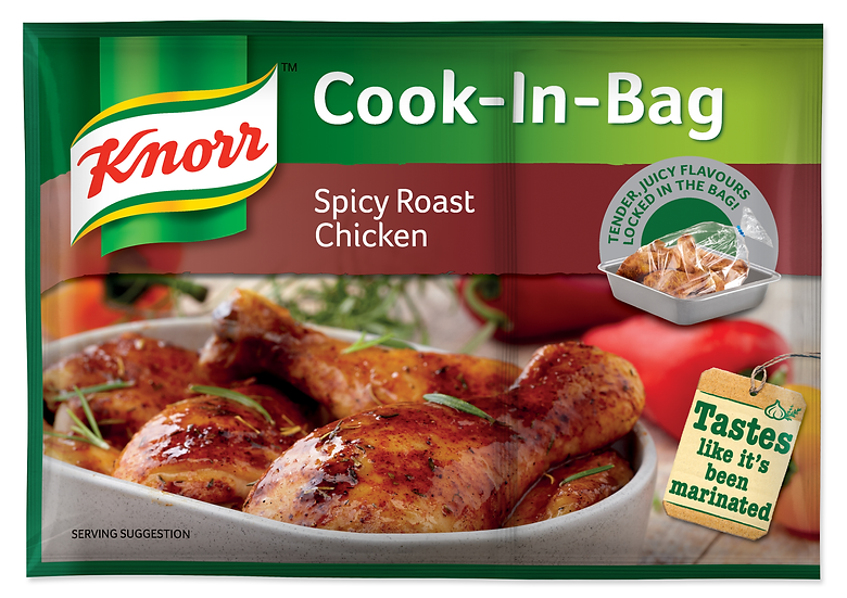Knorr Cook in Bag Spicy Roaste Chicken 54g