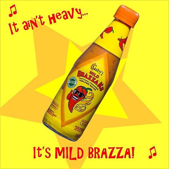 Gaby'z BrazzaKu Mild Sauce, 250ml