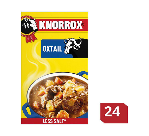 Knorr Stock Cubes Oxtail  24's