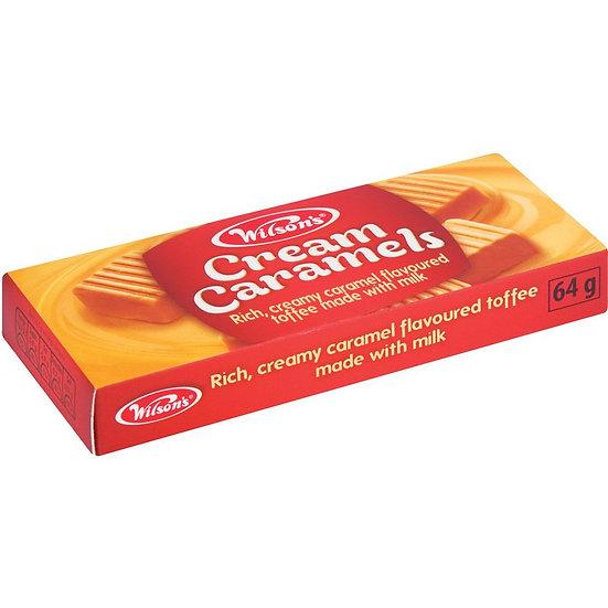 Cream Caramels