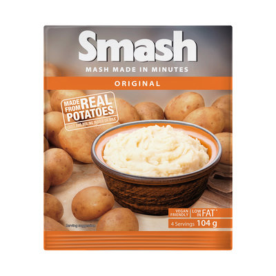 Smash Instant Mash Potato Original 104g
