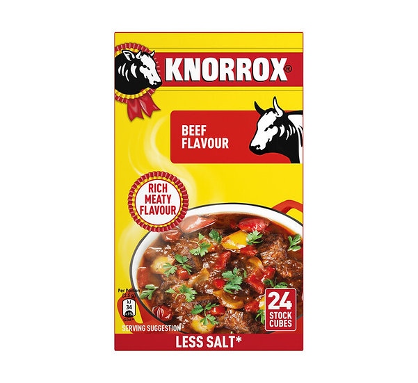 Knorr Stock Cubes Beef  24's