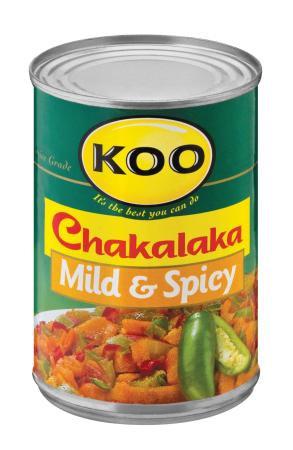 Koo Chakalaka Mild & Spicy