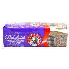 Bakers, Red Label Vanilla Cream Biscuits, 200g
