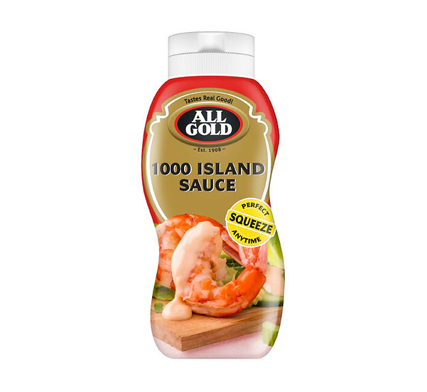 All Gold Sauces Squeeze Bottle 1000 Islands
