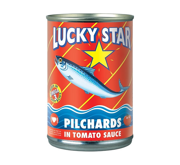 Lucky Star Pilchards in Tomato Sauce 400g