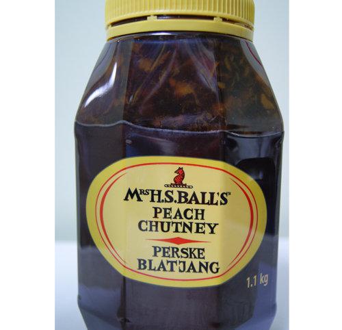 Mrs Balls Chutney Peach  1.1 Kg