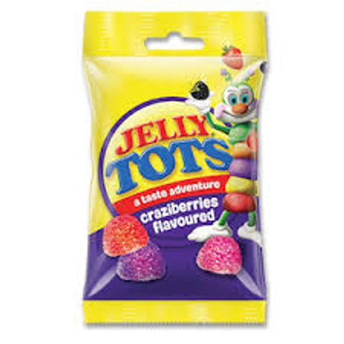 Jelly tots Crazy berry 100g