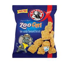 Bakers Mini Biscuits Zoofari