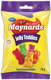Maynards Jelly Teddies 75g