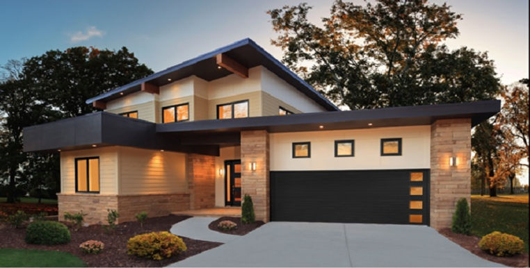 MODERN STEEL GARAGE DOORS