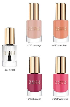 Claudia Schiffer naillakset base coat and color 330