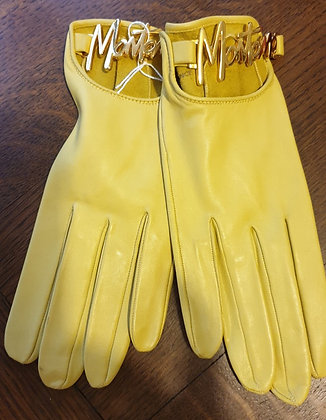 Montana leather gloves yellow7