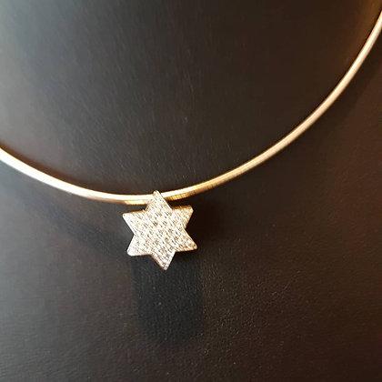 Ketting chain Star diamonds