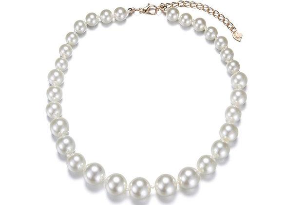 Fantasy short necklace Audrey pearls