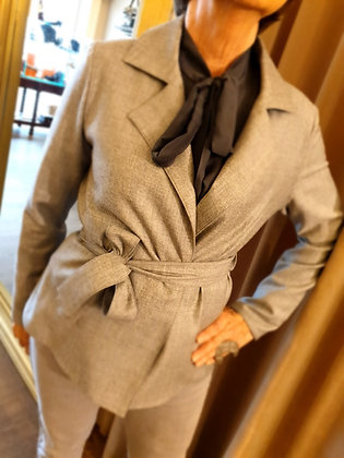 Natan jacket grey wool 40