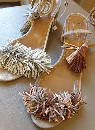 Aquazzurra sandals soft pink