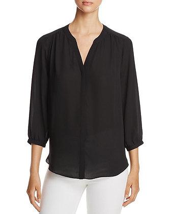 NYDJ Pintuck blouse black