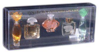 Lalique set 5 miniatures