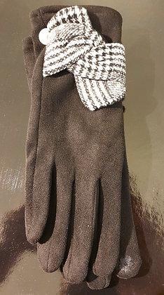 Gloves-handschoenen 'Pied de poule'
