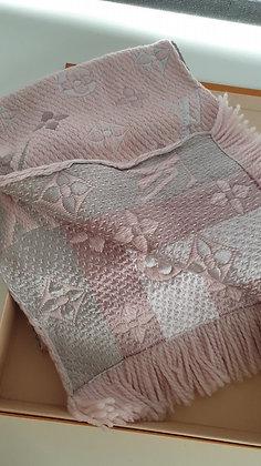 Louis Vuitton Logomania pink scarf-shawl