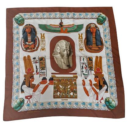 Hermes carre 90x90 Ramses (detail)
