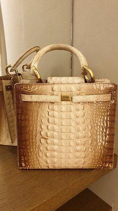 Ferre vintage bag 'Croco'