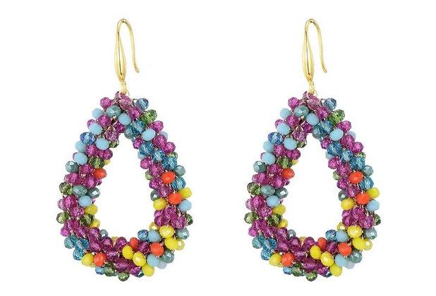 Earrings Drops Lotty multicolor