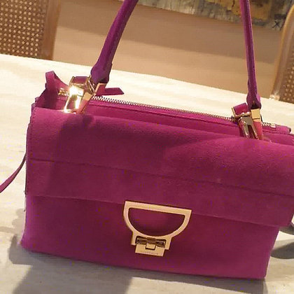 Coccinelle Arlettis 'Purple' with strap NEW