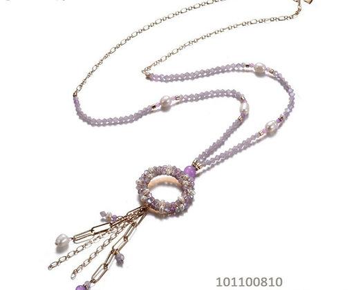 Long necklace FantasyLila