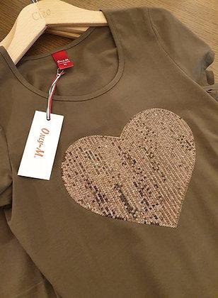 Only-M kaki shirt