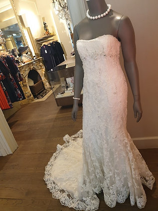 Benjamin Roberts vintage wedding dress Mermaid