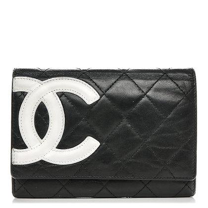 Chanel vintage wallet White CC