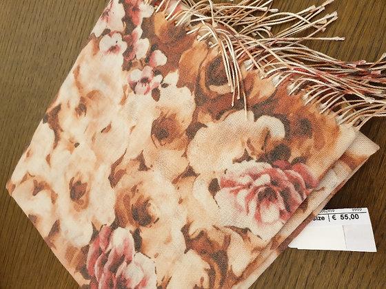 Pashmina Roses soft orange