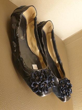 Tod's (vintage) ballerina navy