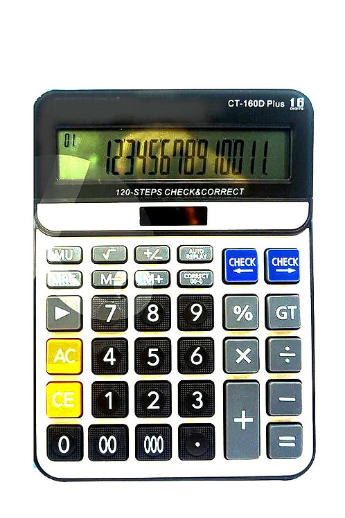 Большой калькулятор CRSIIO CT – 160D Plus