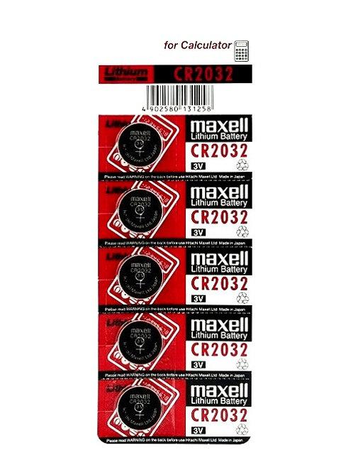 Литиевые батарейки maxell 2032