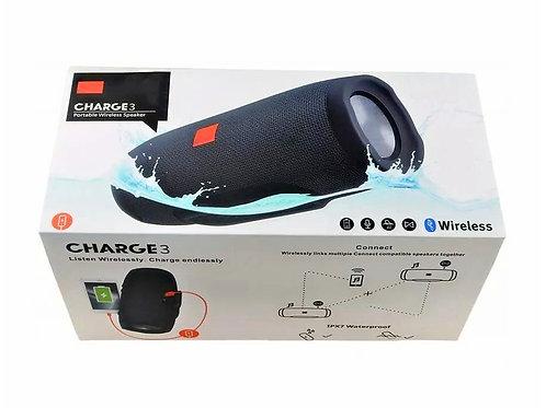 Влагозащитная колонка bluetooth со встроенным Power Bank Charge 3+